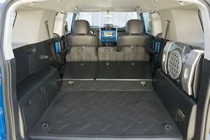 2008 Toyota FJ Cruiser Interior
