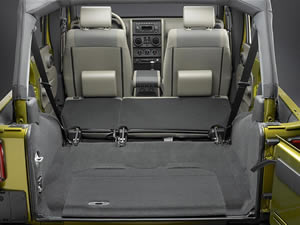 Jeep Wrangler Unlimited 2008 Cargo Space
