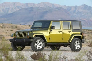 Jeep Wrangler Unlimited 2008 With HardTop