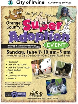 Orange County Super Pet Adoption