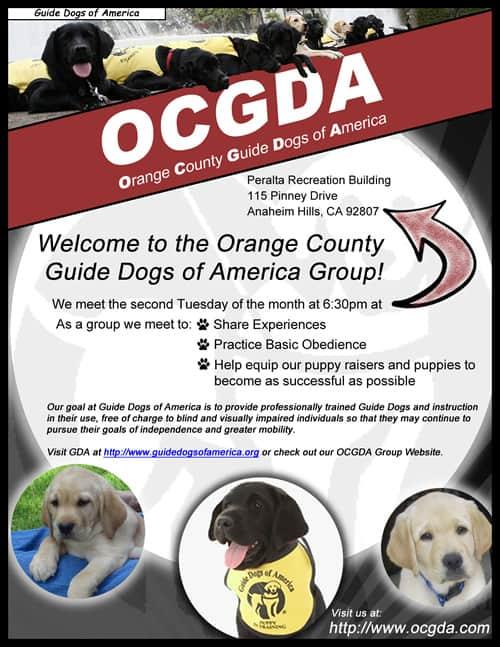 Orange County Guide Dogs of America