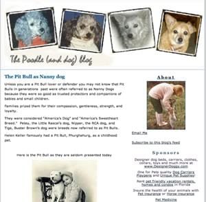 The Poodle And Dog Blog