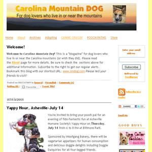 Caroline Mountain Dog