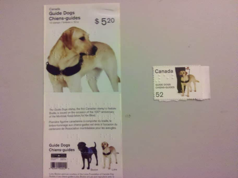 Guide Dog Postage Stamps
