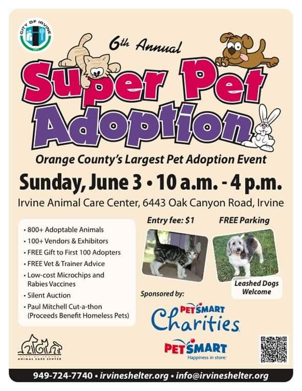 6th Annual Irvine Super Pet Adoption