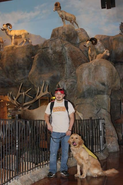 Apache at the Bass Pro Shop