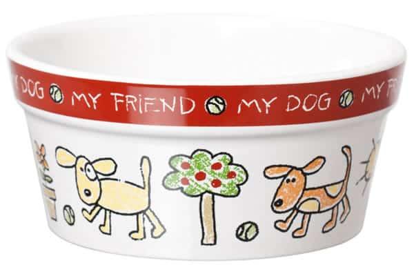 Ceramic Dog Bowl 5