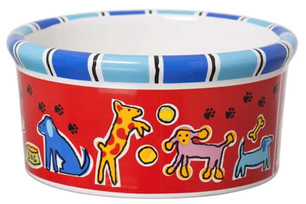 Ceramic Dog Bowl #7