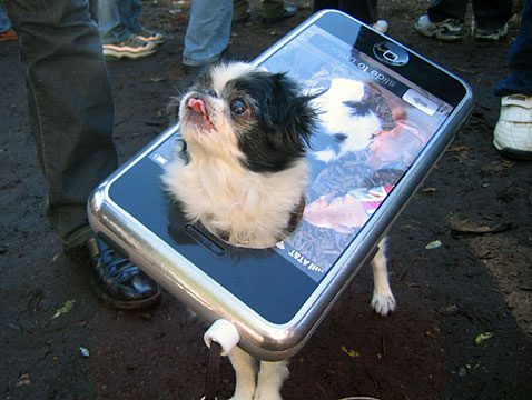 iPhone Dog Halloween Costume