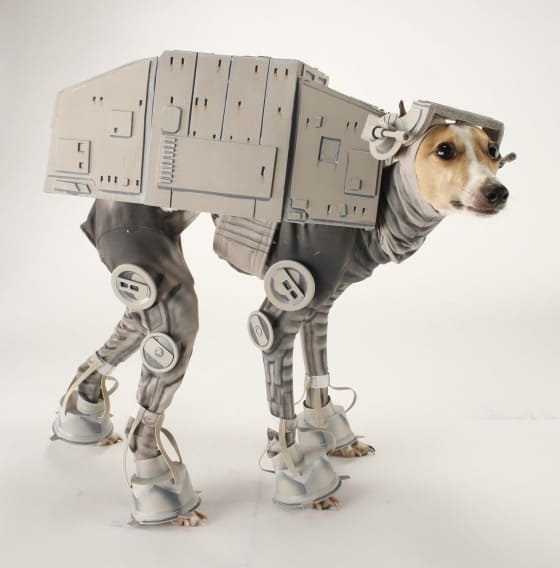#1 u2013 The Awesome AT-AT Dog Costume! & 5 Awesome Star Wars Dog Costumes