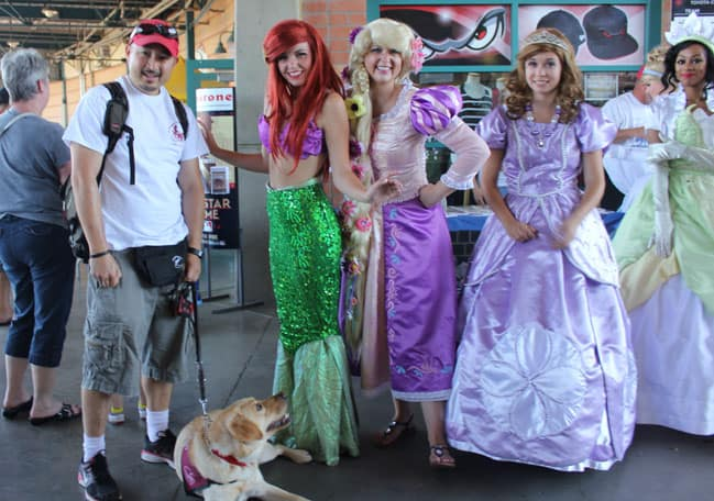 Princess Day with Puppies