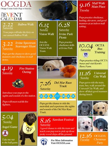 OCGDA Calendar
