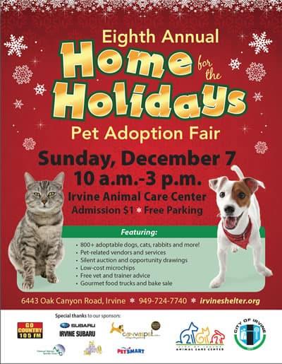 Home For the Holidays Pet Adoption 2014