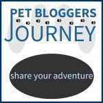 Pet Bloggers Journey - Share Your Adventure Badge